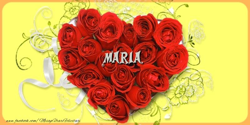 Felicitari de dragoste | Maria