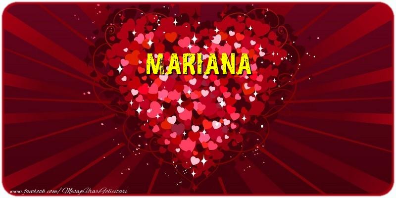 Felicitari de dragoste | Mariana