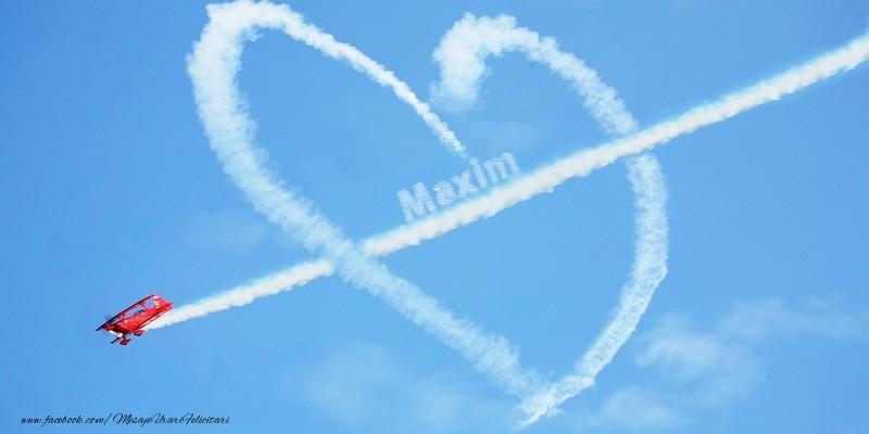 Felicitari de dragoste   Maxim