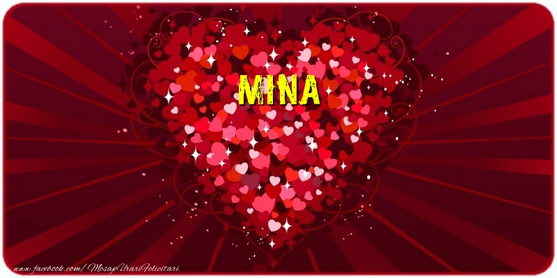 Felicitari de dragoste   Mina