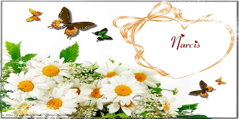 Felicitari de dragoste | I love you Narcis!