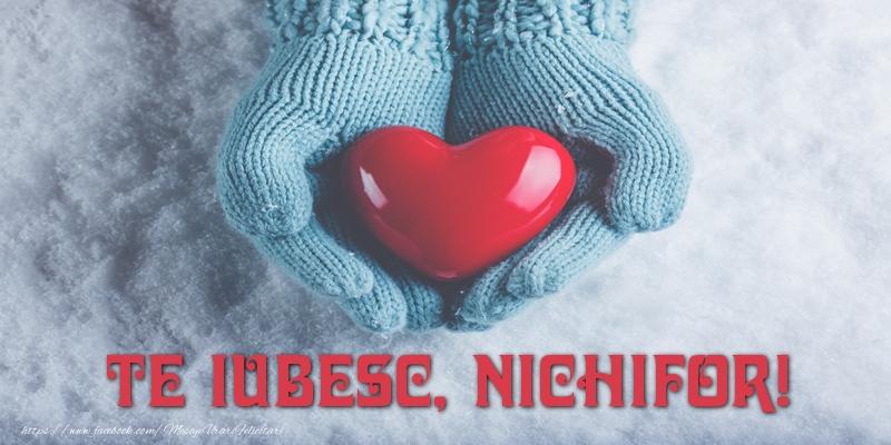 Felicitari de dragoste | TE IUBESC, Nichifor!