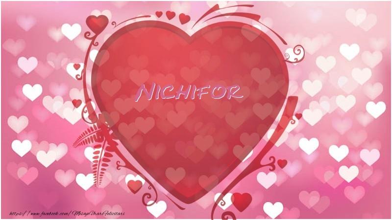 Felicitari de dragoste   Inima Nichifor