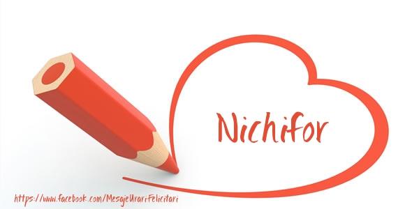 Felicitari de dragoste | Te iubesc Nichifor