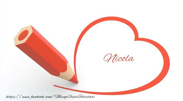 Felicitari de dragoste   Nicola
