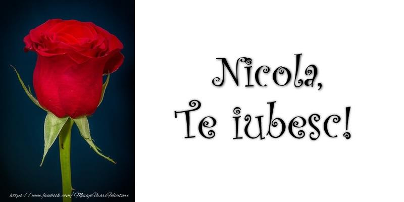 Felicitari de dragoste | Nicola Te iubesc!