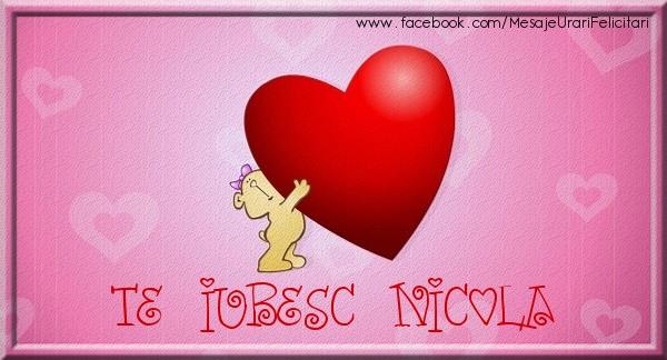 Felicitari de dragoste | Te iubesc Nicola