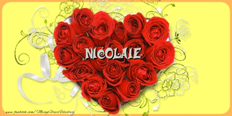 Felicitari de dragoste   Nicolaie