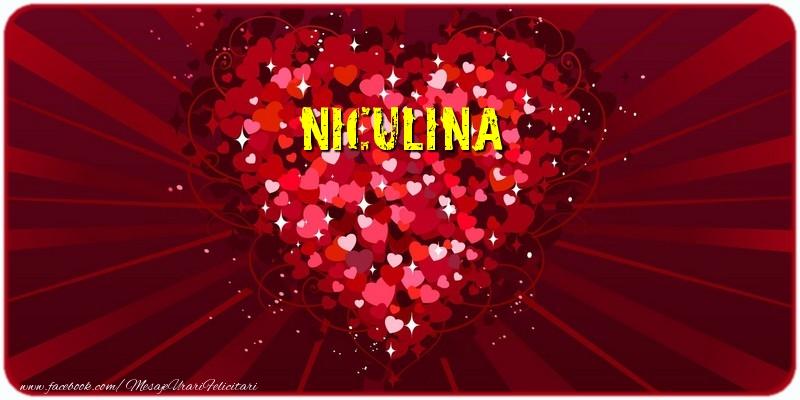Felicitari de dragoste   Niculina