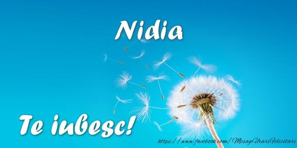 Felicitari de dragoste | Nidia Te iubesc!