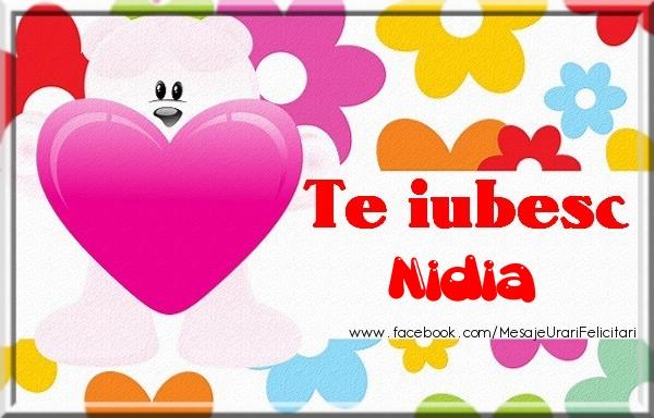Felicitari de dragoste | Te iubesc Nidia