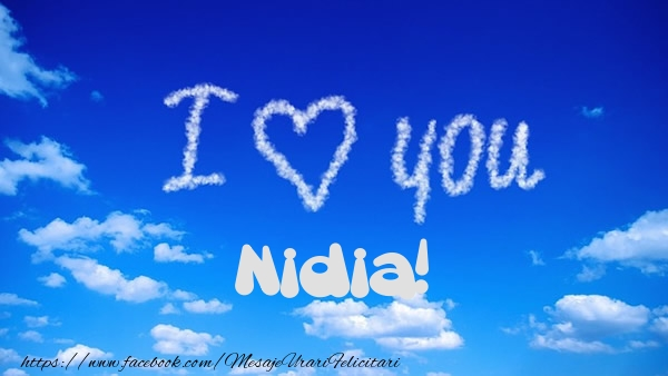 Felicitari de dragoste | I Love You Nidia!