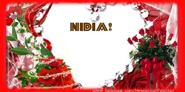 Felicitari de dragoste | Love Nidia!