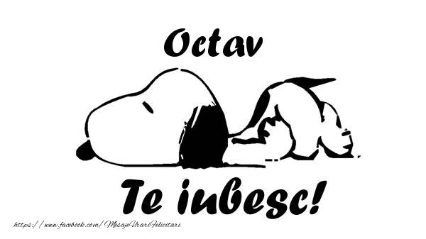 Felicitari de dragoste | Octav Te iubesc!