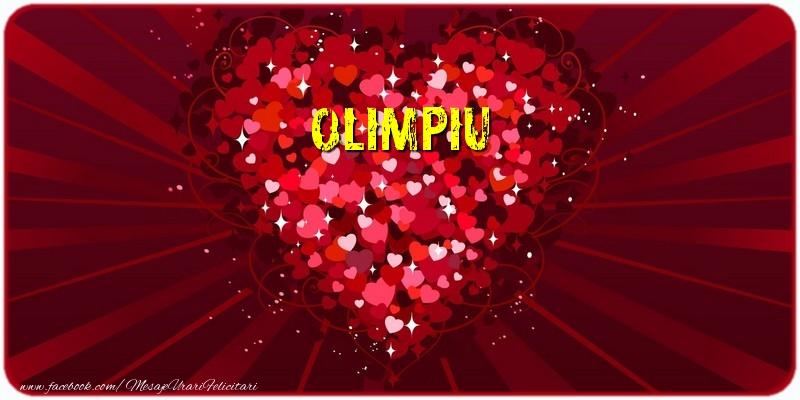 Felicitari de dragoste | Olimpiu