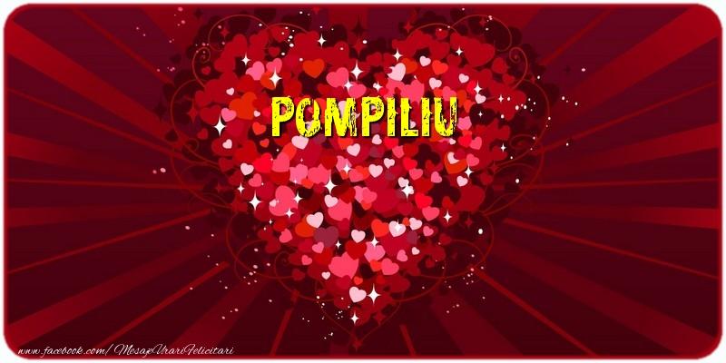 Felicitari de dragoste | Pompiliu