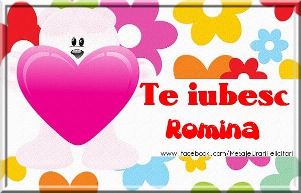 Felicitari de dragoste | Te iubesc Romina