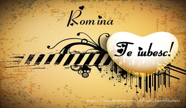 Felicitari de dragoste | Romina Te iubesc