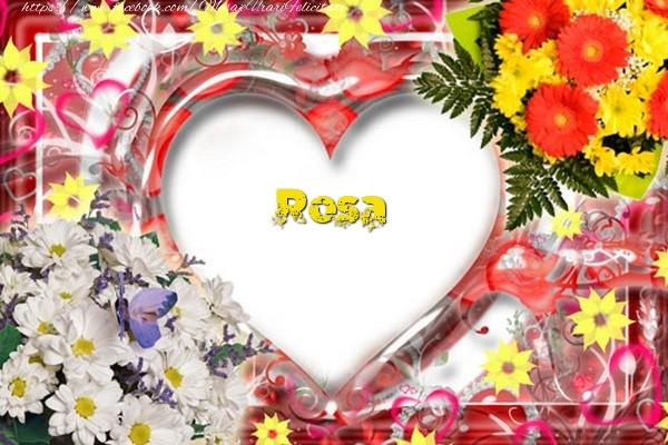Felicitari de dragoste   Rosa