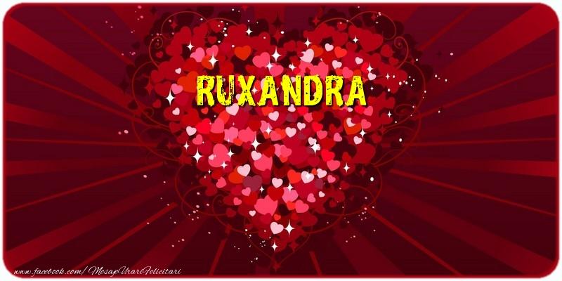Felicitari de dragoste | Ruxandra