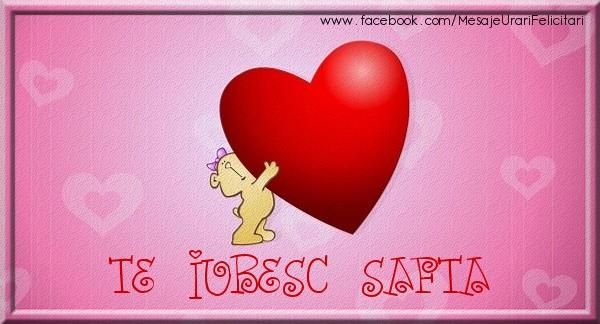 Felicitari de dragoste | Te iubesc Safta