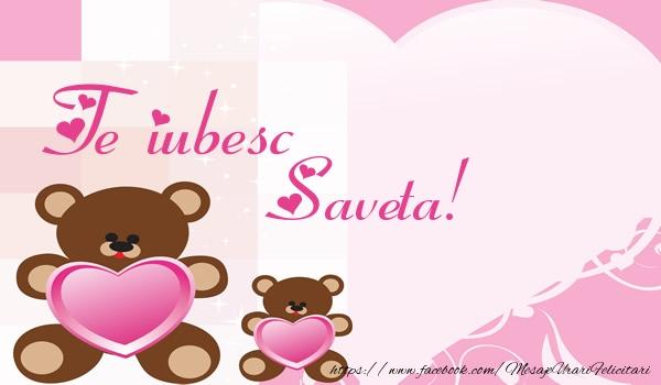 Felicitari de dragoste | Te iubesc Saveta!