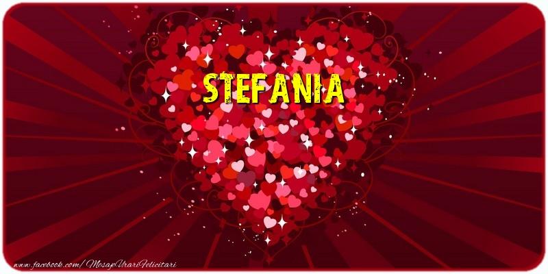 Felicitari de dragoste | Stefania