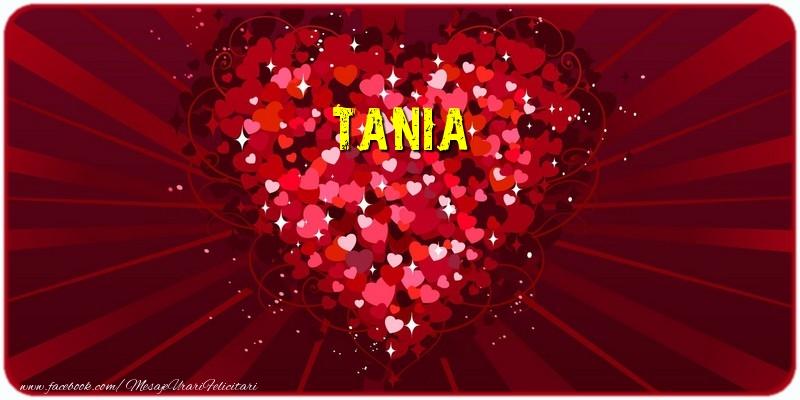 Felicitari de dragoste | Tania