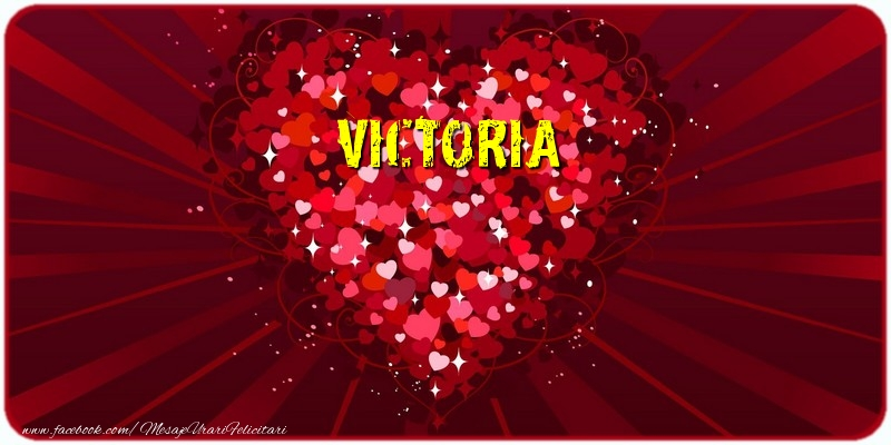 Felicitari de dragoste | Victoria