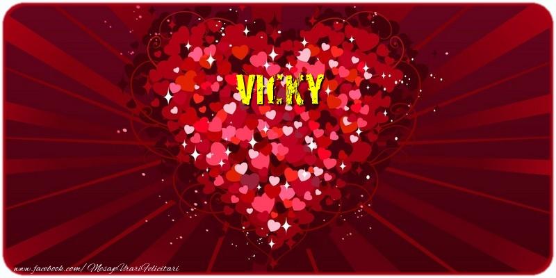 Felicitari de dragoste   Vicky