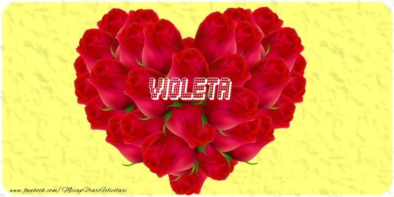 Felicitari de dragoste | Violeta