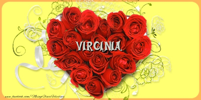 Felicitari de dragoste | Virginia