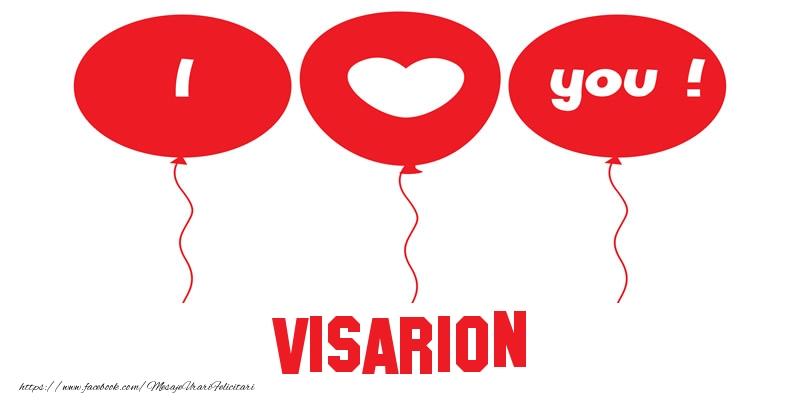 Felicitari de dragoste | I love you Visarion!