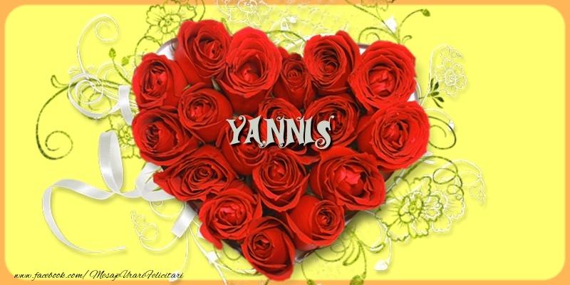 Felicitari de dragoste | Yannis
