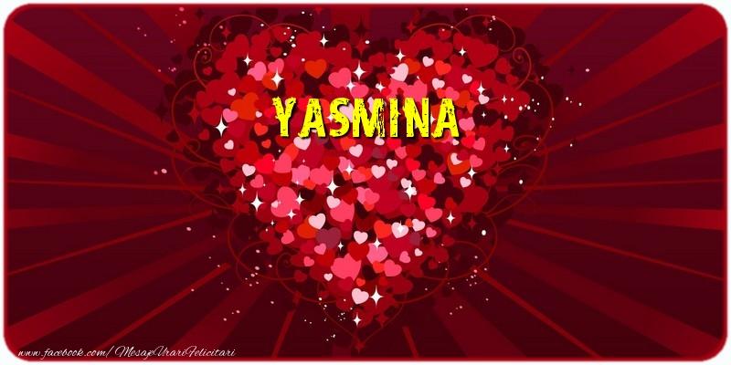 Felicitari de dragoste | Yasmina