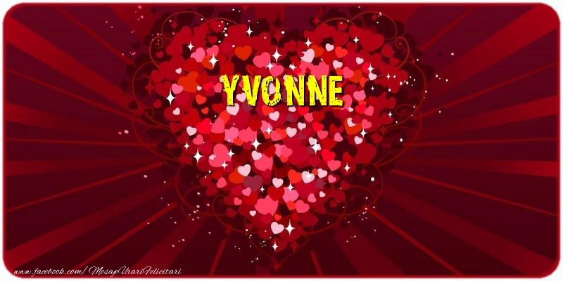 Felicitari de dragoste | Yvonne