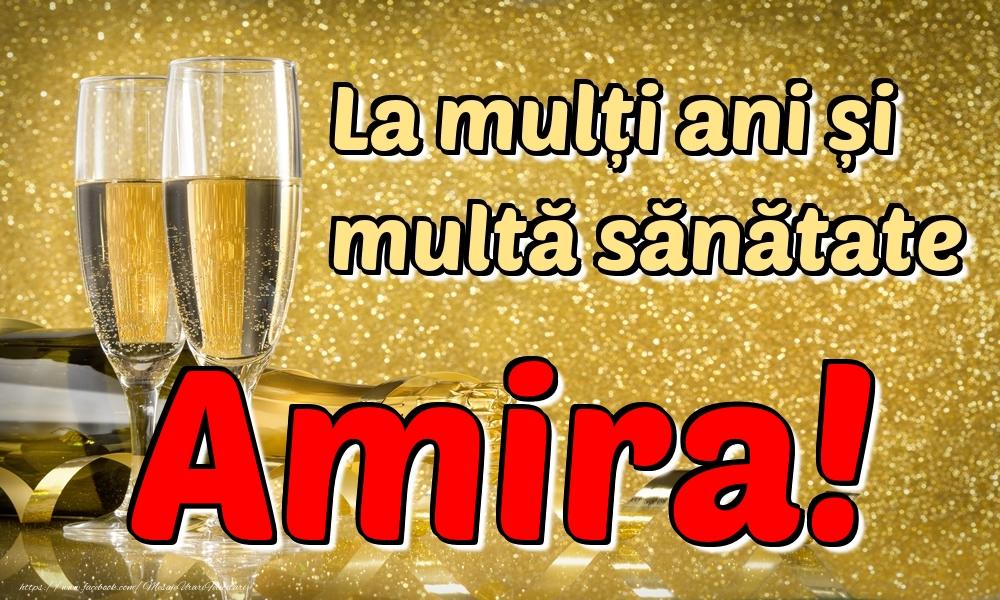 Felicitari de la multi ani | La mulți ani multă sănătate Amira!