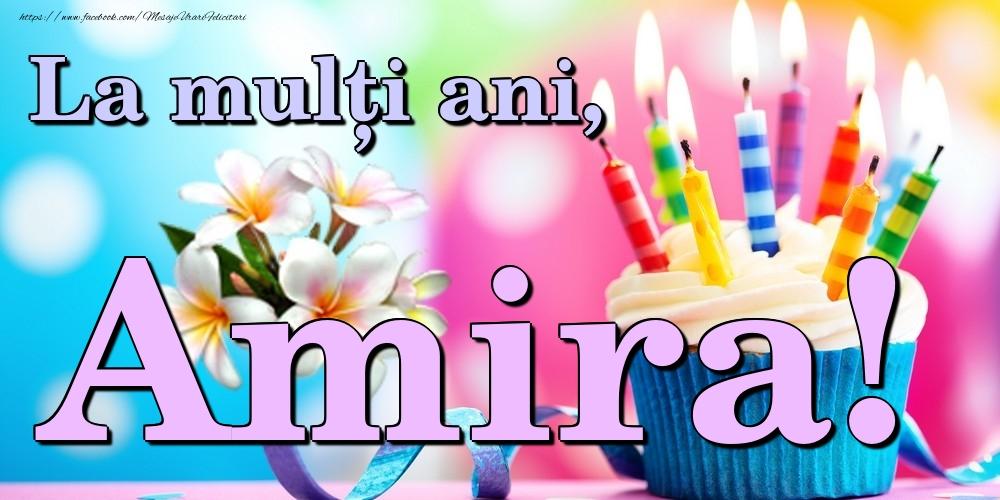 Felicitari de la multi ani | La mulți ani, Amira!