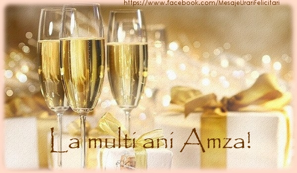 Felicitari de la multi ani | La multi ani Amza!