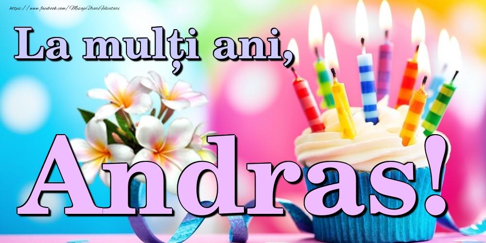 Felicitari de la multi ani | La mulți ani, Andras!