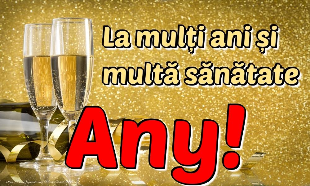 Felicitari de la multi ani | La mulți ani multă sănătate Any!