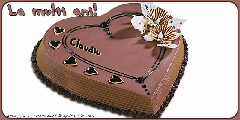 Felicitari de la multi ani | La multi ani, Claudiu