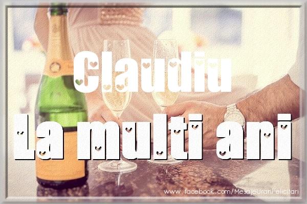 Felicitari de la multi ani | La multi ani Claudiu