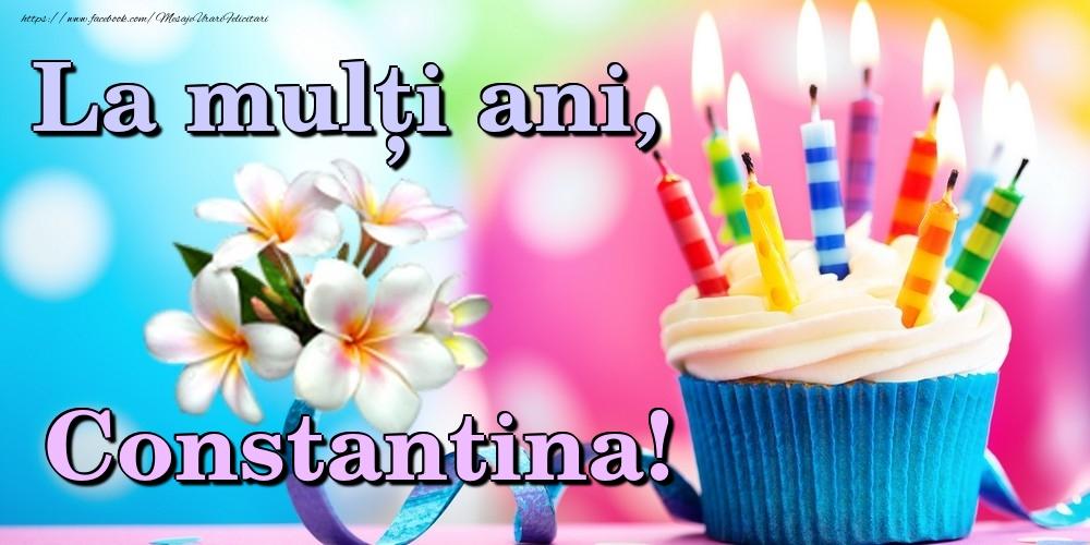 Felicitari de la multi ani | La mulți ani, Constantina!