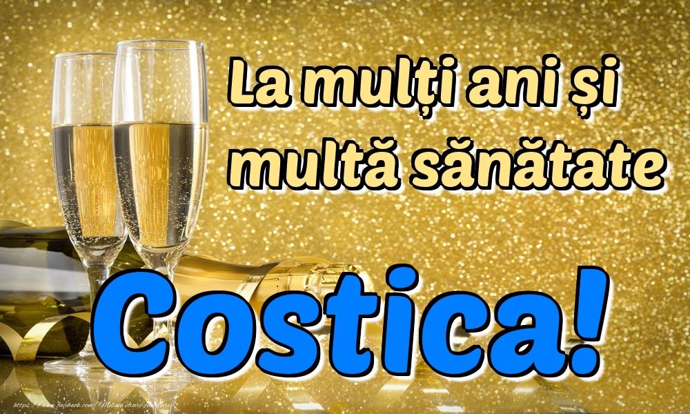Felicitari de la multi ani | La mulți ani multă sănătate Costica!