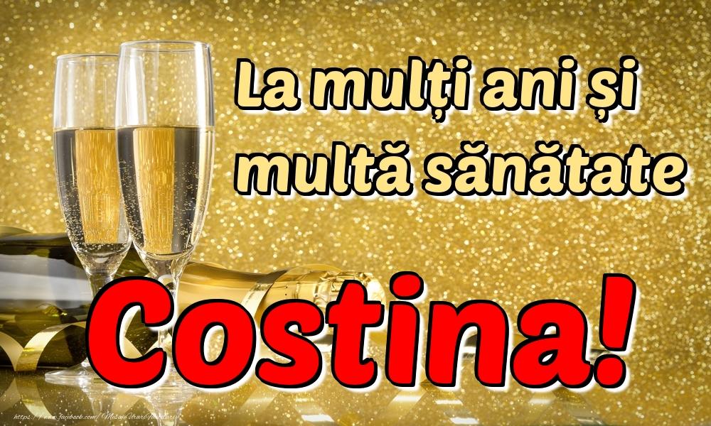 Felicitari de la multi ani | La mulți ani multă sănătate Costina!
