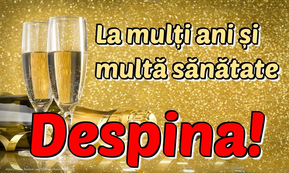 Felicitari de la multi ani | La mulți ani multă sănătate Despina!