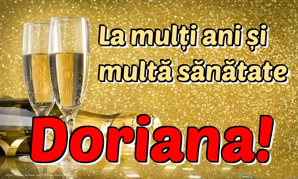 Felicitari de la multi ani | La mulți ani multă sănătate Doriana!
