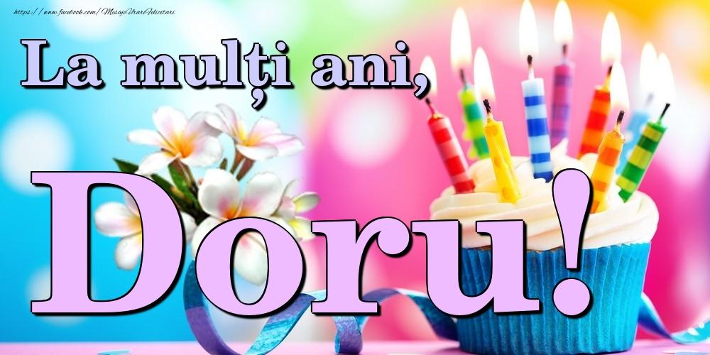 Felicitari de la multi ani   La mulți ani, Doru!