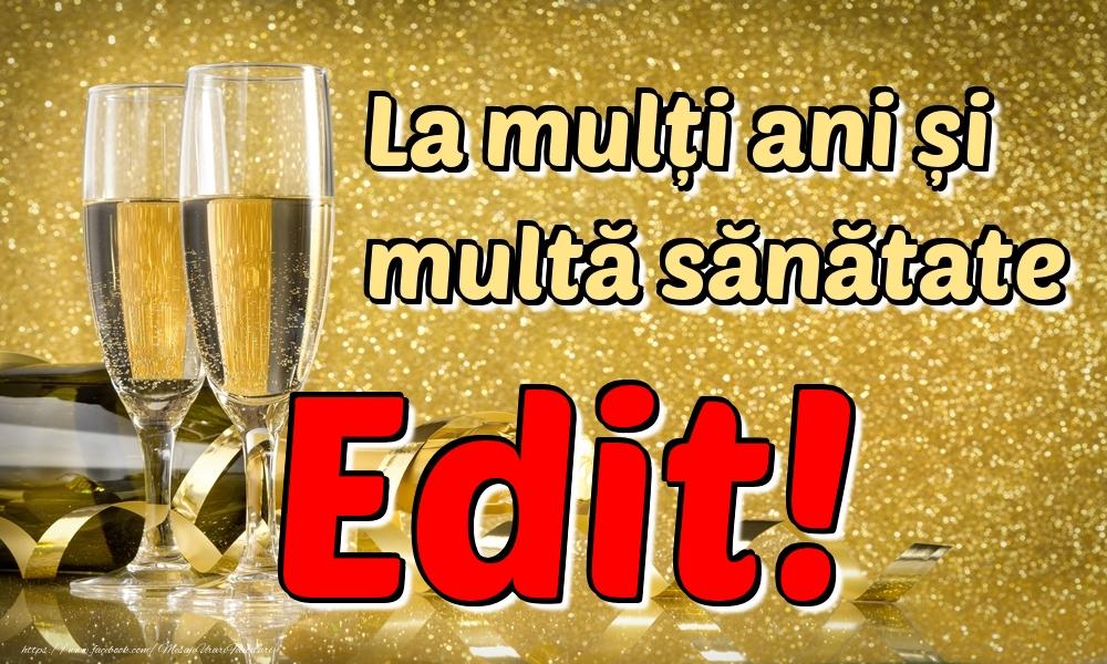 Felicitari de la multi ani | La mulți ani multă sănătate Edit!